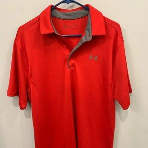 Under Armour polo for men in Large. Excellent cond
